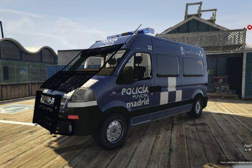 Opel Movano Policía Municipal de Madrid of Spain/España.