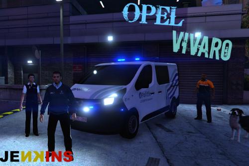 Opel Vivaro - Belgian Local Police (lokale politie) 4K
