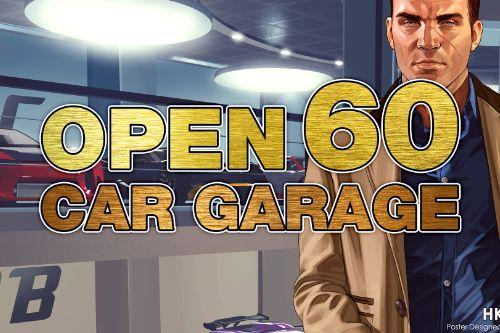 Open 60 Car Garage