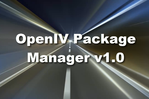 OpenIV Package Manager