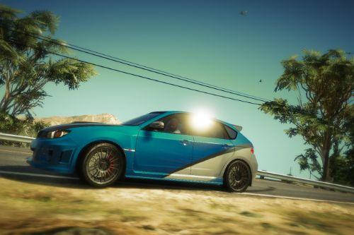 Original Livery Subaru WRX Fast and Furious 7