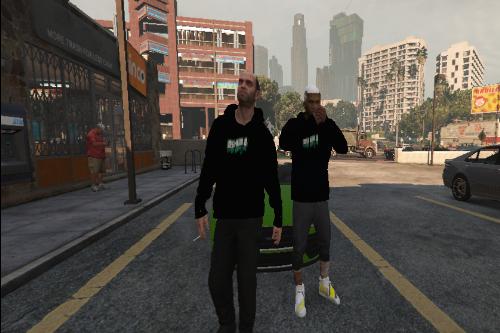Ospanno Slime hoodie (Franklin and Trevor)