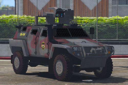 OTOKAR COBRA II Turkish SWAT [Replace] [ELS / non-ELS]
