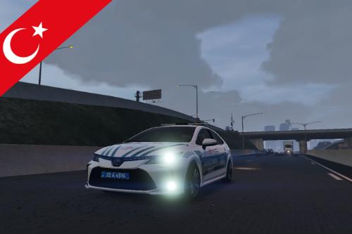 Otoyol trafik polis Toyota Corolla 2020 | [ELS]