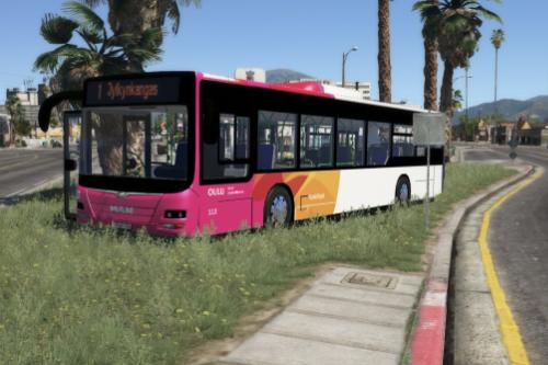 Oulun Joukkoliikenne Finland Suomi Bus
