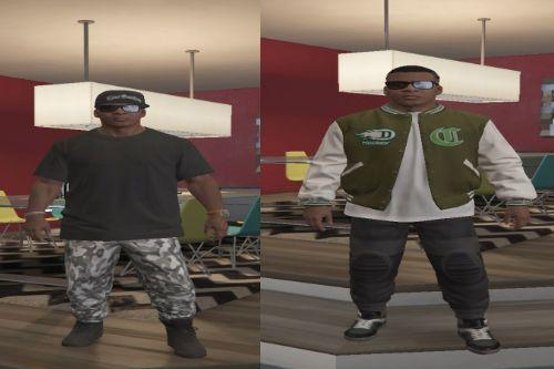 outfits for micheal,franklin and trevor