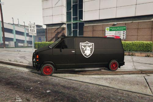 Outlawz 2Pac Gang Van