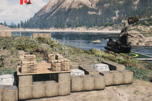 Outpost Alpha - NATO Military Base (Menyoo)