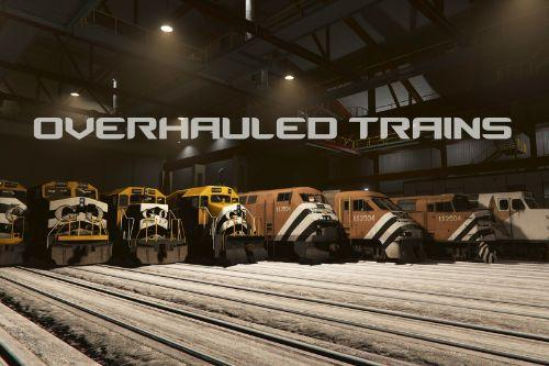 Overhauled Trains [Lore-Friendly | Liveries]