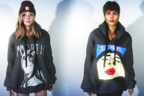 Oversized Hoodie For MP Female