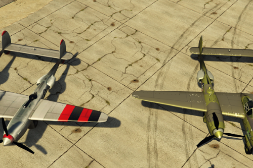 Lockheed P38 Lightning [Add-On]