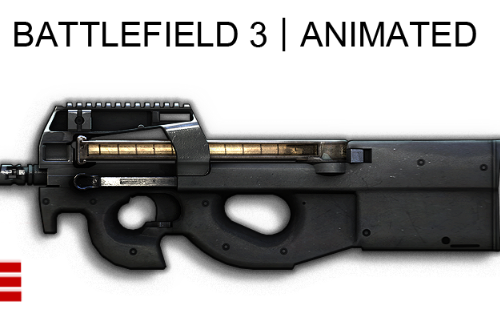 P90 (BF3) [Animated]