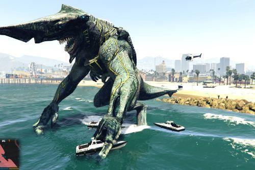 Pacific Rim Knifehead Kaiju [Add-On Ped]