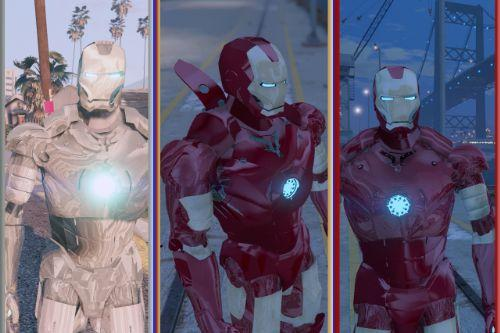 PACK ARMADURAS IRON MAN ADR. MARK 2 MARK 3 V1 E V2