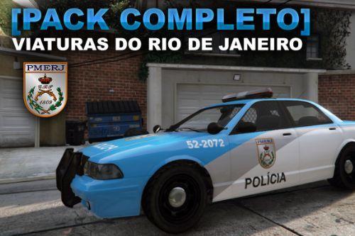 [Pack Completo] Viaturas Rio de Janeiro - PMERJ, BPRv, PF, BOPE, CPAM, SAMU, Bombeiros (.OIV)