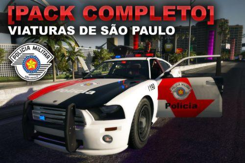 [Pack Completo] Viaturas São Paulo - PMESP, Rodoviária, PF, COE, Policia Ambiental, SAMU, Bombeiros (.OIV)