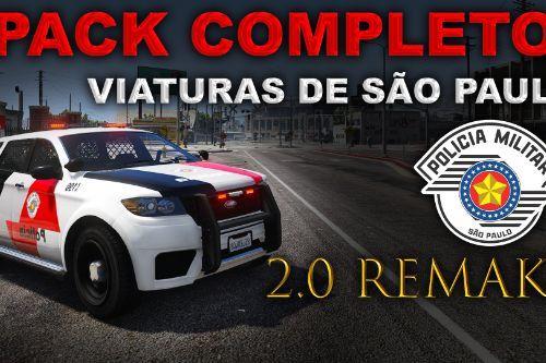 [Pack Completo] Viaturas São Paulo - PMESP, Rodoviária, PF, ROTA, FT, BAEP, PCESP, COE, Policia Ambiental, SAMU, Bombeiros (.OIV)