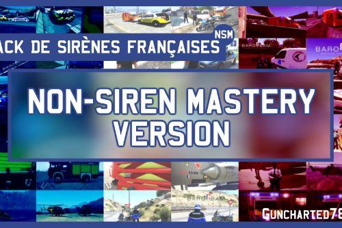 Pack de sirènes deux-tons Françaises / French Sirens Pack [Non-Siren Mastery Version]