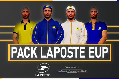 PACK LA POSTE – [FIVEM READY/SP]