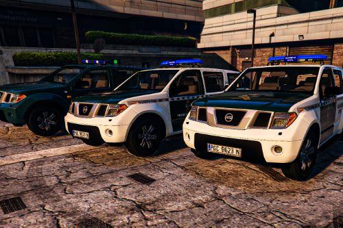 Pack Nissan Pathfinder Guardia Civil [ELS | REPLACE | ADD-ON]