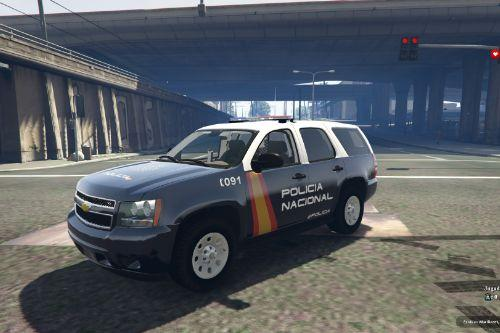 Pack of Chevrolet Tahoe Policia Nacional/CNP of Spain/España[FiveM-Replace]