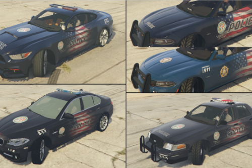 Los Santos USA Police Pack