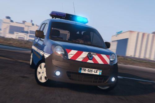 Pack Renault Kangoo 2010 Gendarmerie (Rampe / Gyroled)