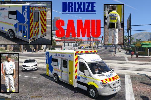 SAMU Pack + Tenue (French Ambulance + Paramedic Ped)