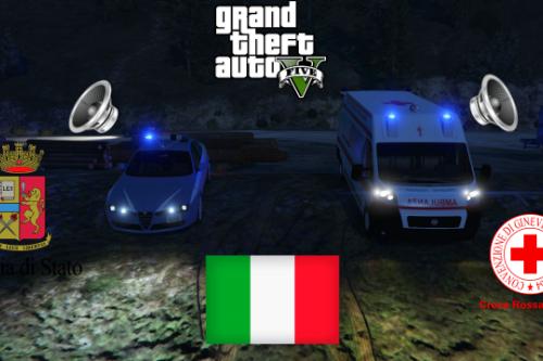 Pack Sirene Italiane [ELS & No ELS]