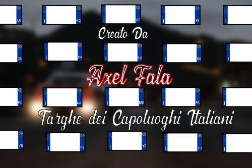 PACK Targhe Capoluoghi Italiani