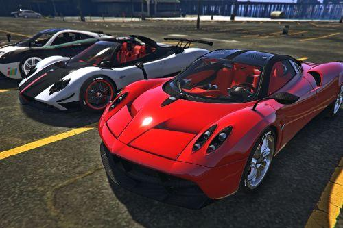 Pagani Cars DLC (Add-On)