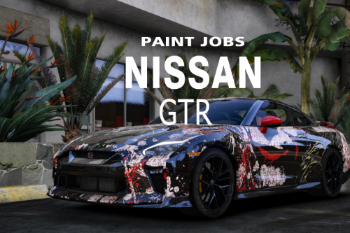 Nissan GTR Livery