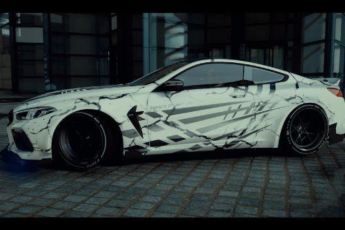 Paintjob for BMW M8