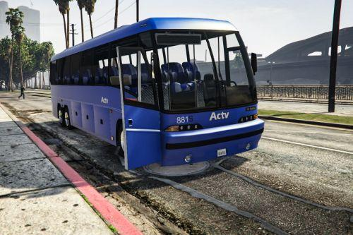 Paintjob for coach ACTV Scania De Simon Italia old livree (for bus simulator mod)