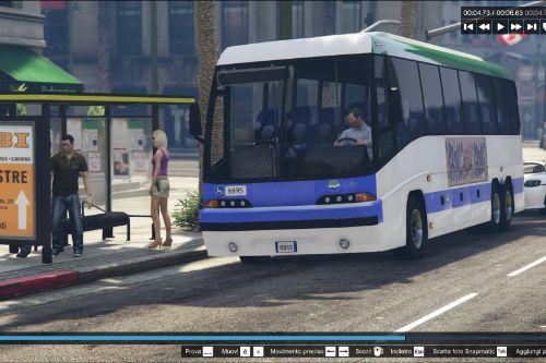 Paintjob for coach ACTV Scania De Simon Italia (for bus simulator mod)