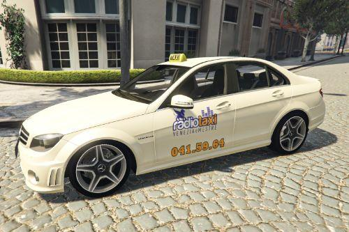 Paintjob for TAXI Mercedes Benz  Venezia Italia ITA