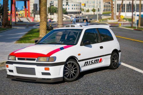 Paintjob Pack for Nissan Sunny\Pulsar '91