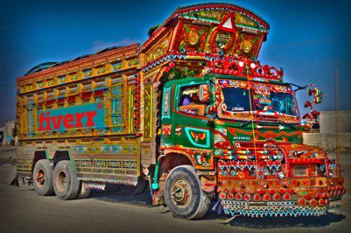 Pakistan/Indian truck horn