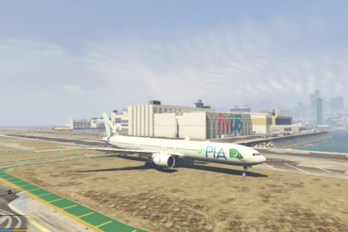 Pakistan International Airlines PIA New Livery Boeing 777-300