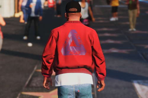 Palace™ Bomber Jacket - Red