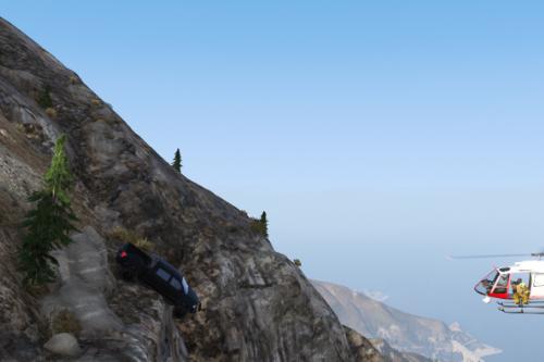 Paleto Bay Cliff Accident [Menyoo]