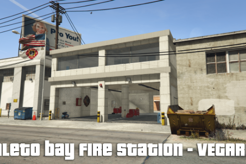 paleto bay - fire station - fire house - Menyoo xml file