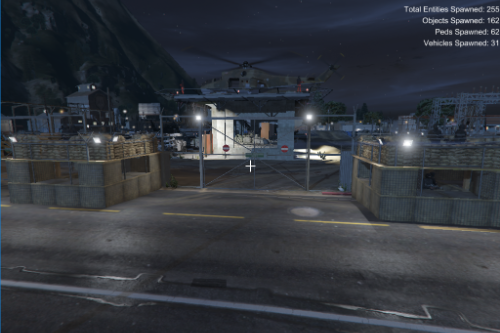 Paleto Bay Military Base