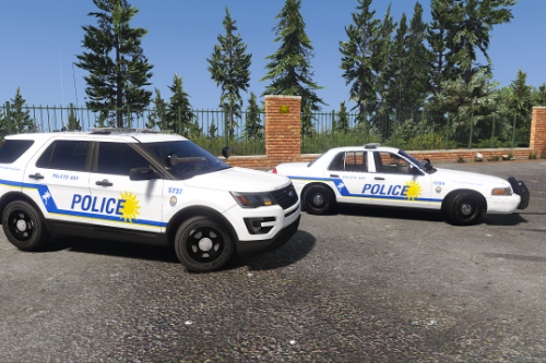 Paleto Bay Police Department Mini-Pack (Key West PD based)