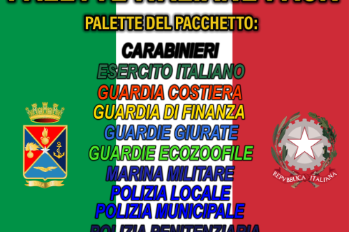 Palette Italiane Pack | Paletta - FF.OO. FF.AA. Servizi D'emergenza [ITA]
