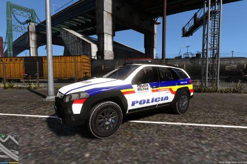 Pálio Adventure PMMG Polícia de Minas Gerais (Hélio e Richard)