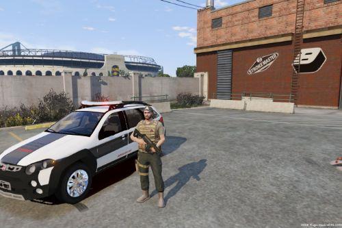 Palio Sistema Prisional MG - Brazilian Mod BR