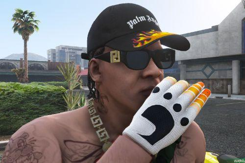 Palm Angels Flame Cap For Franklin