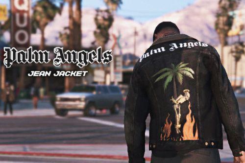 Palm Angels Jean Jacket MP Male