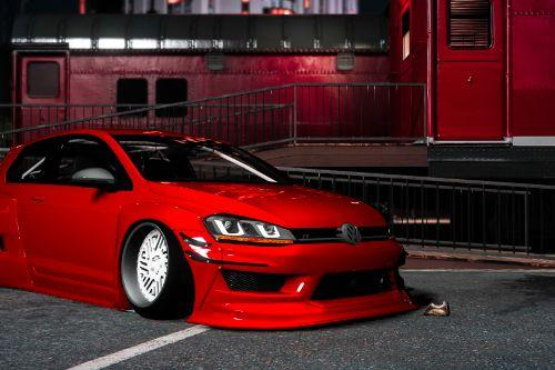 Pandem Volkswagen Golf R Mk7 [Add-on] [Liveries+Template]